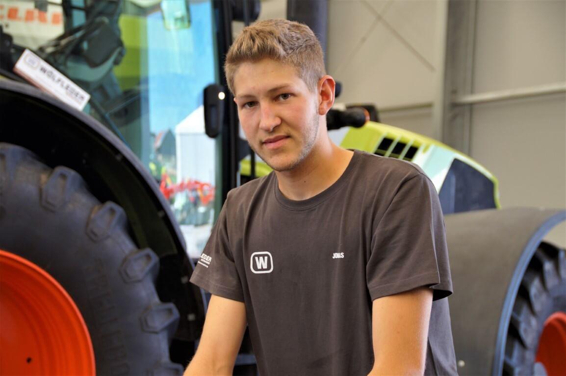 Jonas Meier Lehrling Mechaniker